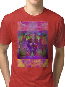 7167 Nefertiti reworked Tri-blend T-Shirt