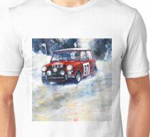 1964 Rallye Monte Carlo Mini Cooper S Hopkirk Liddon winner Unisex T-Shirt
