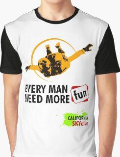 California SkyDive Graphic T-Shirt