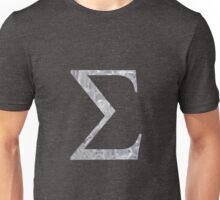 Ice Sigma Symbol Unisex T-Shirt