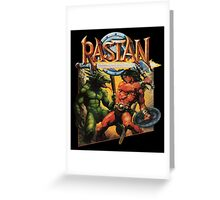 Rastan Greeting Card