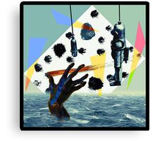 Rescue At Sea Canvas Print