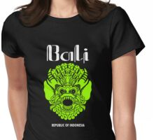 Wonderful Indonesia, Bali Culture Womens Fitted T-Shirt
