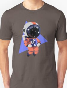 Cute Astronaut Character (Orange) Unisex T-Shirt