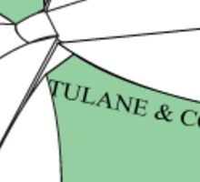 Tulane and Co. Sticker