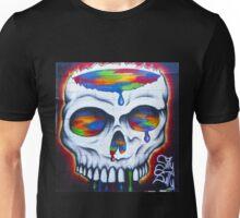 Paint Skull Unisex T-Shirt