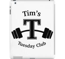 Tim's Tuesday Club iPad Case/Skin