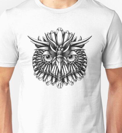 Crystal Owl Unisex T-Shirt