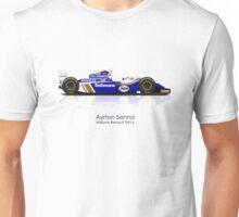 Ayrton Senna - Williams Renault FW16 Unisex T-Shirt