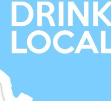Illinois Drink Local IL Blue Sticker