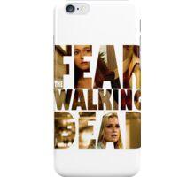 FEAR THE WALKING DEAD #1 Elyza Lex & Alicia Clark iPhone Case/Skin