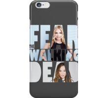 FEAR THE WALKING DEAD #2 Elyza Lex & Alicia Clark iPhone Case/Skin