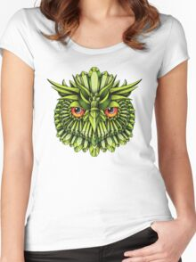 Crystal Owl EDC Women's Fitted Scoop T-Shirt