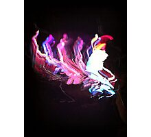 Light Painting 2 Photographic Print