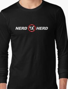 Vintage Nerd Herd Chuck Long Sleeve T-Shirt