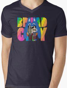 Broad City Abbi Ilana and Bingo Bronson Mens V-Neck T-Shirt