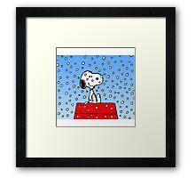 Snoopy fun Framed Print
