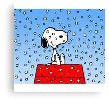 Snoopy fun Canvas Print
