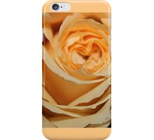 Peach Rose II iPhone Case/Skin
