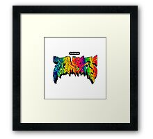 Flatbush Zombies Acid Trip Framed Print