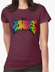 Flatbush Zombies Acid Trip Womens Fitted T-Shirt