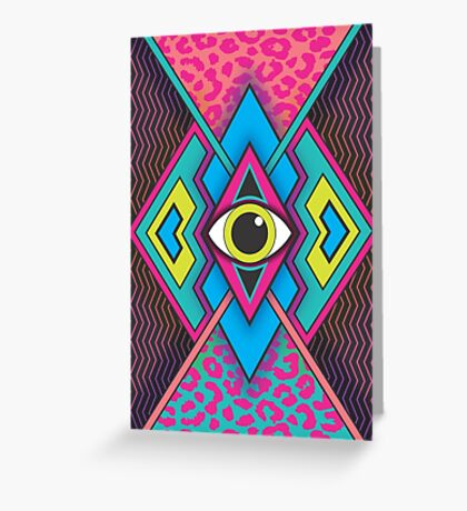 Tribal Eye Greeting Card