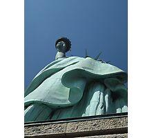Statue of Liberty Detail, Statue of Liberty, Liberty Island Photographic Print