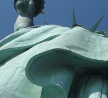 Statue of Liberty Detail, Statue of Liberty, Liberty Island Sticker