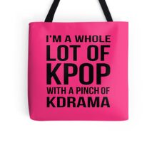 A LOT OF KPOP - PINK Tote Bag