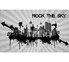 Rock The Sky Photographic Print