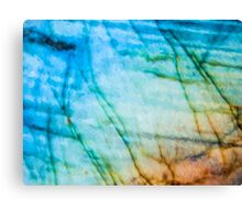 Abstract Painting Vibrinces Canvas Print