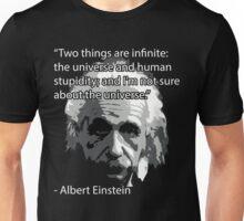 Einstein Quote Tee! Unisex T-Shirt