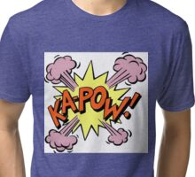 Ka-Pow! Tri-blend T-Shirt