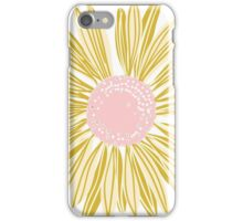 Gold Flower iPhone Case/Skin