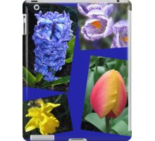 The Sweetness of Spring Floral Collage iPad Case/Skin