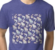 Colored inside the lines Tri-blend T-Shirt