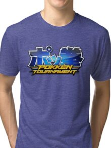 Pokken Tournament Logo Tri-blend T-Shirt