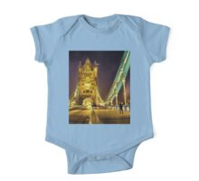 Tower Bridge at night  One Piece - Short Sleeve