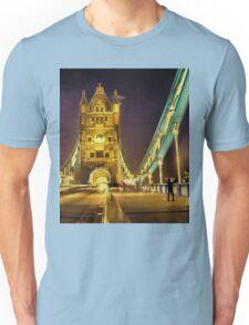 Tower Bridge at night  Unisex T-Shirt