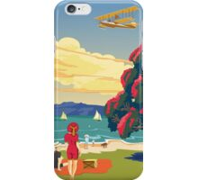 Walsh Brothers Flying Boat, Auckland 1915 iPhone Case/Skin