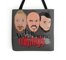 Wandering Vikings Podcast faces Merch Tote Bag