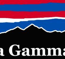 Alpha Gamma Rho RWB Sticker