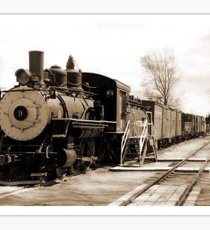 Steam Locomotive Sticker