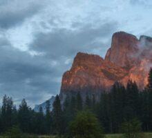 Yosemite Valley Sunset Sticker
