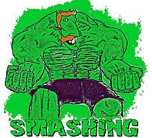 SMASH-ing! Photographic Print