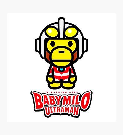 Ultraman Baby Milo Photographic Print