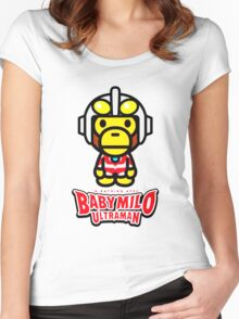 Ultraman Baby Milo Women's Fitted Scoop T-Shirt