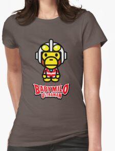 Ultraman Baby Milo Womens Fitted T-Shirt