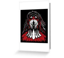 Demonic Rise Balor Greeting Card