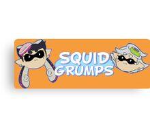 Squid Grumps Canvas Print